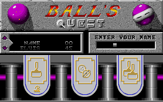 Thumbnail of other screenshot of Ball's Quest
