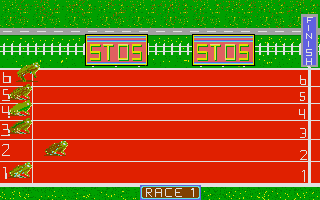 Thumbnail of other screenshot of Frog Race