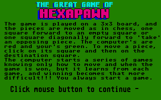 Thumbnail of other screenshot of Hexapawn