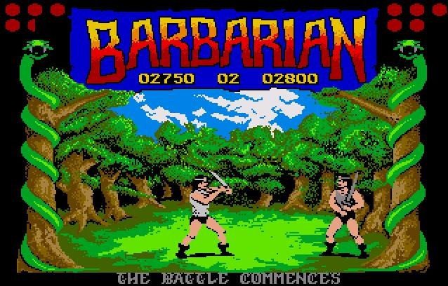 Screenshot of Barbarian - The Ultimate Warrior