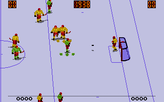 Screenshot of Face-Off Ice Hockey