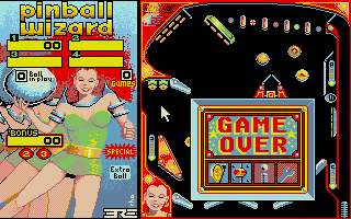 Screenshot of Pinball Wizard