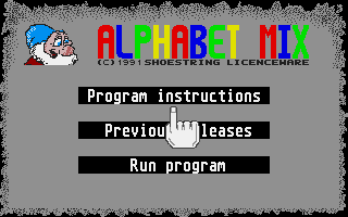 Large screenshot of Alphabet Mix