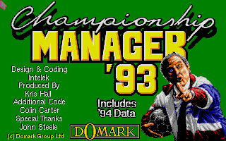 Thumbnail of other screenshot of Championship Manager 93 / 94