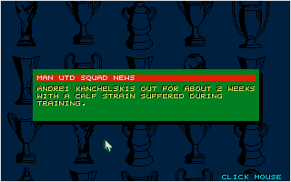 Screenshot of Championship Manager 93 / 94