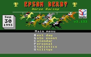 Thumbnail of other screenshot of Epsom Derby Horse Racing