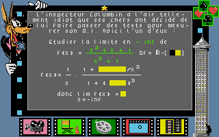 Screenshot of Bosse des Maths 1ere, La