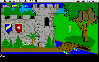Thumbnail of other screenshot of King's Quest - Quest for the Crown
