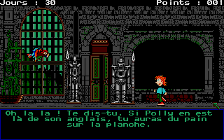 Thumbnail of other screenshot of Le Labyrinthe D'Anglomania 1