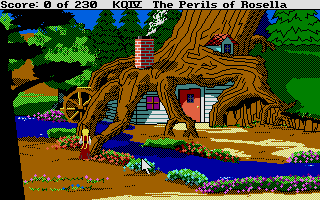 Thumbnail of other screenshot of King's Quest 4 - The Perils of Rosella