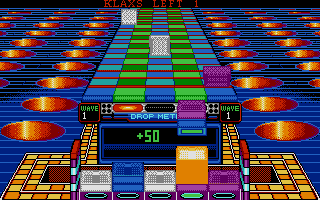 Screenshot of Klax