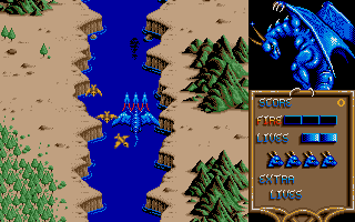 Screenshot of Dragon Spirit