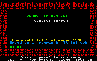 Thumbnail of other screenshot of Hooray for Henrietta