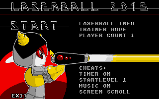 Thumbnail of other screenshot of Laserball 2015