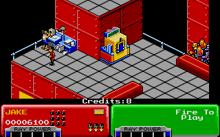 Screenshot of Escape from the Planet of the Robot Monsters