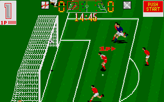 Screenshot of European Football Champ