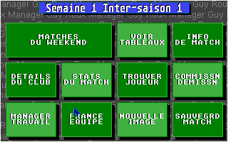 Screenshot of Guy Roux Manager Planete Foot