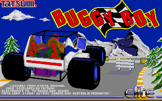 Screenshot of Buggy Boy