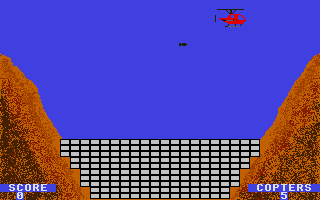 Screenshot of Canyon Bombing