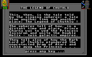 Large screenshot of Captive of Chuthlu