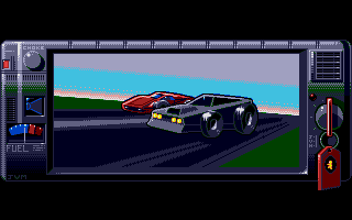 Screenshot of Race Drivin'