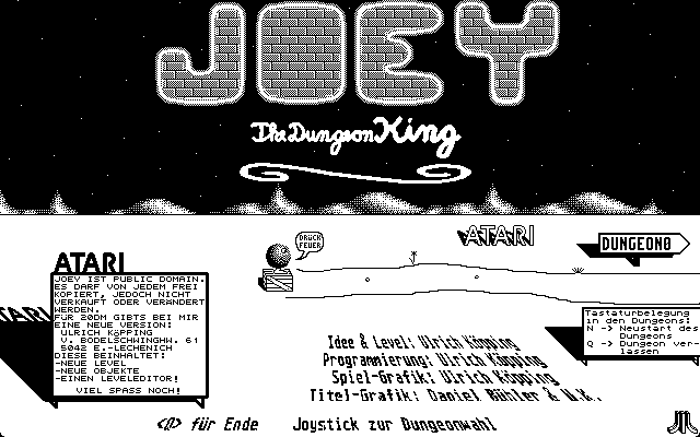 Thumbnail of other screenshot of Joey The Dungeon King