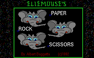 Screenshot of Ellemouses Paper Rock Scissors