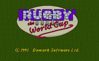 Screenshot of Rugby - The World Cup