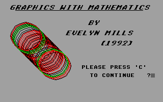 Large screenshot of Graphics with Mathematics
