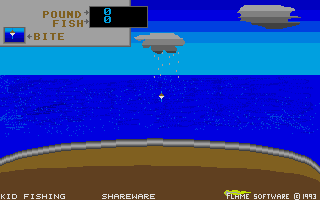 Screenshot of Kid Fishing