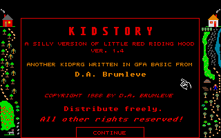 Thumbnail of other screenshot of Kid Story