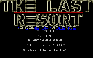 Thumbnail of other screenshot of Last Resort, The