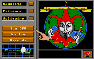 Screenshot of Joueur de Cartes, Le