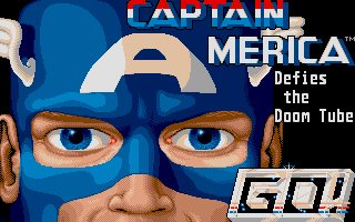 Screenshot of Captain America In The Doom Tube Of Dr. Megalomann