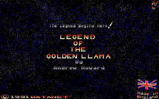 Large screenshot of Legend of the Golden Llama