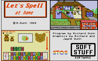 Screenshot of Let's Spell At Home