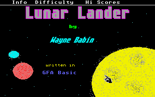 Thumbnail of other screenshot of Lunar Lander