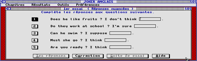 Thumbnail of other screenshot of Joker Micro - Anglais 6e