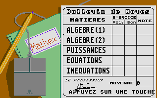 Thumbnail of other screenshot of Mathex Junior - 4e-3e