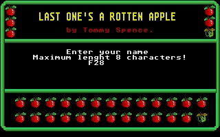 Screenshot of Last Ones Rotten Apple