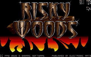 Thumbnail of other screenshot of Risky Woods
