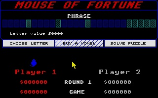 Screenshot of Mouse of Fortune