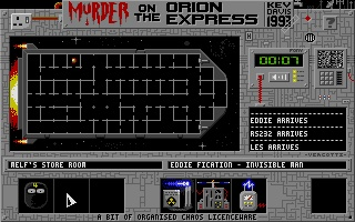 Screenshot of Murder on the Orion Express
