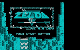 Screenshot of Nesulator - Zelda
