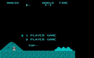 Thumbnail of other screenshot of Nesulator - Super Mario Bros