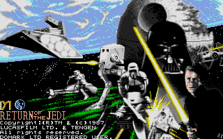 Screenshot of Star Wars: Return of the Jedi
