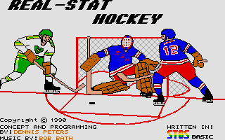Thumbnail of other screenshot of Real Stat Hockey