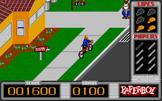 Thumbnail of other screenshot of Paperboy