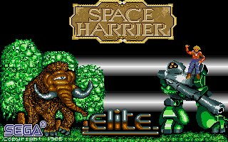Thumbnail of other screenshot of Space Harrier