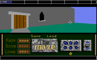 Screenshot of Maze, The